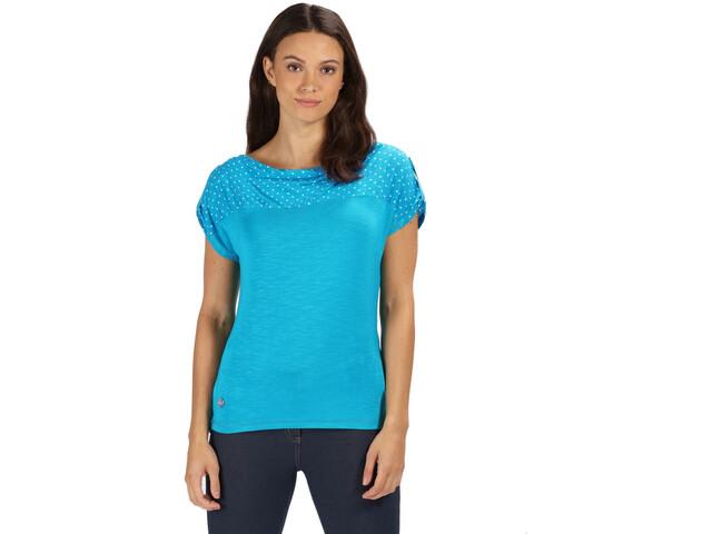 Regatta Freesia T-Shirt Femme, enamel polka